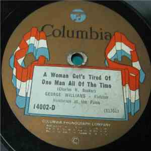 George Williams  - A Woman Get's Tired Of One Man All Of The Time / The Gal Ain't Born Who Can Treat Me Like You Do album FLAC