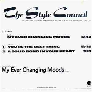 The Style Council - Selections From My Ever Changing Moods album FLAC