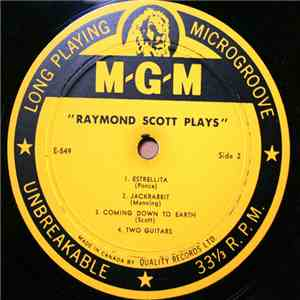 Raymond Scott And His Orchestra - Raymond Scott Plays album FLAC