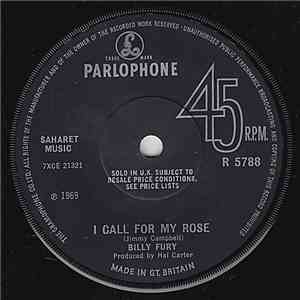Billy Fury - I Call For My Rose album FLAC
