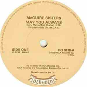McGuire Sisters - May You Always / Sugartime album FLAC
