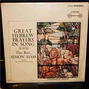 Simon Hass - Great Hebrew Prayers In Song album FLAC