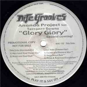 Ananda Project Featuring Terrance Downs - Glory Glory (Second Coming) album FLAC