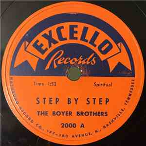 The Boyer Brothers  - Step By Step / Oh Lord, Stand By Me album FLAC